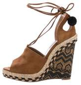 Aquazzura Palm Springs Espadrille Wedge Sandals