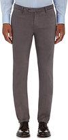 Incotex Men's S-Body Slim-Fit Stretch-Cotton Trousers-LIGHT GREY