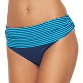 Apt. 9 Women's Printed Fold-Over Scoop Bikini Bottoms
