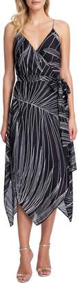 Gottex Palla Printed Wrap Dress