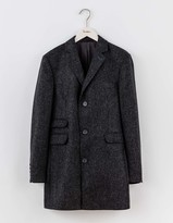 Boden British Tweed Overcoat