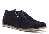 Penguin Lawyer Navy Suede Desert Boots