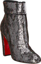 Christian Louboutin Moulamax 100 Sequin Embossed Ankle Boot