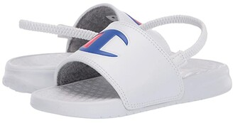 Champion Kids Super Slide (Toddler) (White) Kids Shoes
