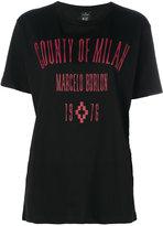 Marcelo Burlon County of Milan graphic printed logo T-shirt