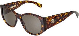 Chanel Women's Ch5411 54Mm Polarized Sunglasses