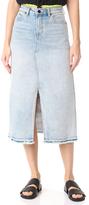 Denim x Alexander Wang Midi Skirt