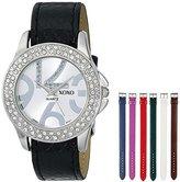 XOXO Women's XO9026 Seven Color Snake Interchangeable Strap Set Watch
