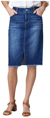 Jag Jeans Betty Denim Pencil Skirt (Thorne Blue) Women's Skirt