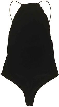 Alix Black Velvet Top for Women