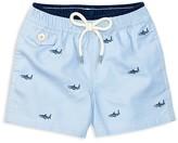 Ralph Lauren Boys' Embroidered Shark Swim Trunks - Baby