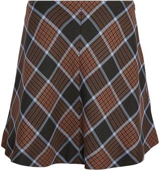 Samsoe & Samsoe Kora Checked Mini Skirt