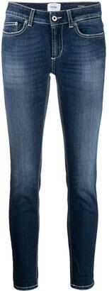 Dondup Low-Rise Skinny-Cut Organic Cotton Jeans
