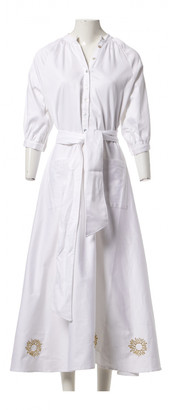 ÀCHEVAL PAMPA White Cotton Dresses