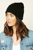 Forever 21 Fold-Over Knit Beanie