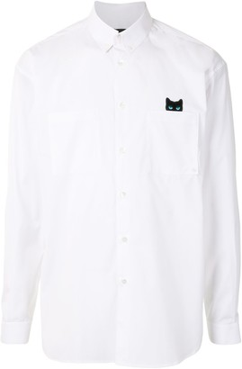 ZZERO BY SONGZIO Panther patch-pocket long sleeved shirt