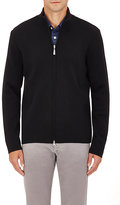 Barneys New York MEN'S DOUBLE-KNIT WOOL SWEATER