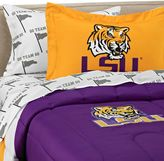 Bed Bath & Beyond Louisiana State University School Logo Applique Twin Bedding Set