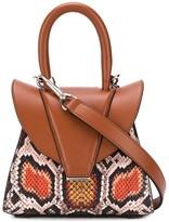 Elena Ghisellini snakeskin shoulder bag
