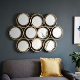 west elm Multi Circle Mirror