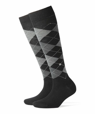Burlington Women's Marylebone Checkered Knee - High Socks
