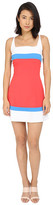 DSQUARED2 Micro Piquet Compact Fit and Flare Dress