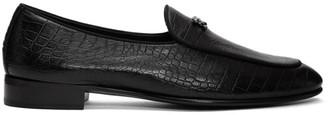 Giuseppe Zanotti Black Darwin Loafers
