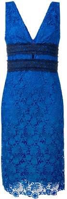 Dvf Diane Von Furstenberg Floral Lace Midi Dress