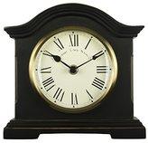 Towcester Clock Works Co. Acctim 33283 Falkenburg Mantel Clock, Black