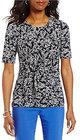 Preston & York-preston york meredith short sleeve top