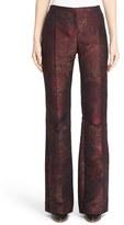 Max Mara Women's 'Nido' Flared Leg Jacquard Pants