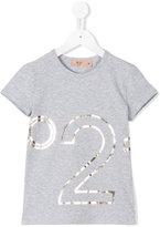 No21 Kids - logo print T-shirt - kids - Cotton/Spandex/Elastane - 5 yrs
