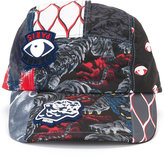 Kenzo multi icon cap - men - Cotton/Polyester - One Size