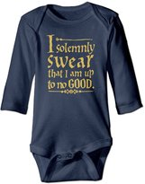Calossdo Kid's Harry Potter Up To No Good Natural Organic0-3 Months Baby Onesies Clothing