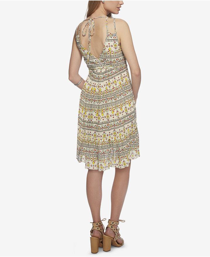 Jessica Simpson Printed Double-Strap Sundress