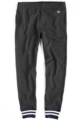 Todd Snyder + Champion Italian Wool Chalk Stripe Sweatpant
