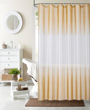 "Dainty Home Mist 3D Shower Curtain Liner, 70"" W x 72"" L Bedding"