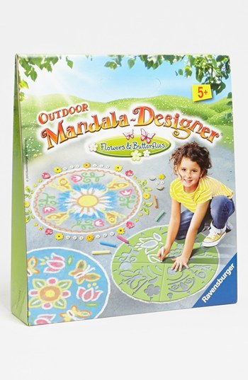 Ravensburger 'Flowers & Butterflies' Outdoor Mandala Designer Flowers/ Butterflies One Size