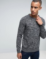 Esprit Crew Neck Jumper With Raglan Sleeve