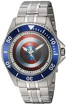 Marvel Men's 'Captain America' Quartz Stainless Steel and Alloy Casual Watch