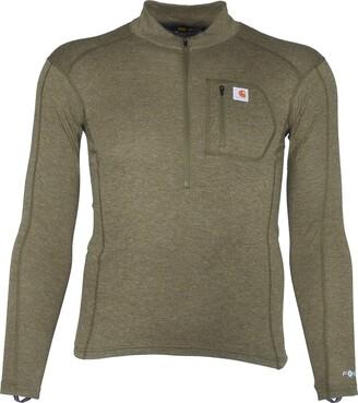 Carhartt Men's Size Force Tech Quarter-Zip Thermal Base Layer Long Sleeve Shirt