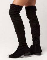 Soda Sunglasses Over The Knee Womens Boots