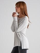 Lucky Brand Striped Cloud Jerseypullover Tunic