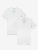 Tommy John Second Skin Deep V-Neck Undershirt (Set of 2)