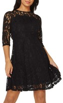 Dorothy Perkins Women's Lace Fit & Flare Dress