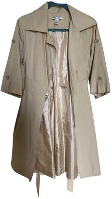 Diane von Furstenberg Beige Silk Coats