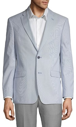 Tommy Hilfiger Striped Suit Jacket
