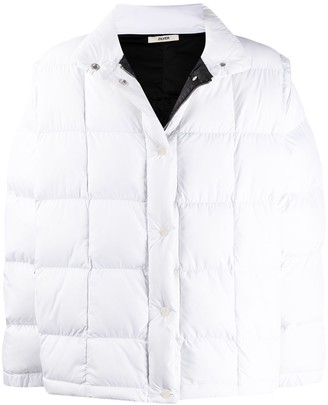 Zilver Detachable-Sleeves Puffer Jacket