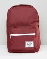 Herschel Supply Co Pop Quiz Backpack In Burgundy