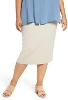 Eileen Fisher Plus Size Women's Wool Knit Pencil Skirt